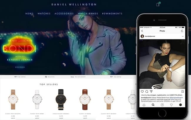 exemple daniel wellington strategy