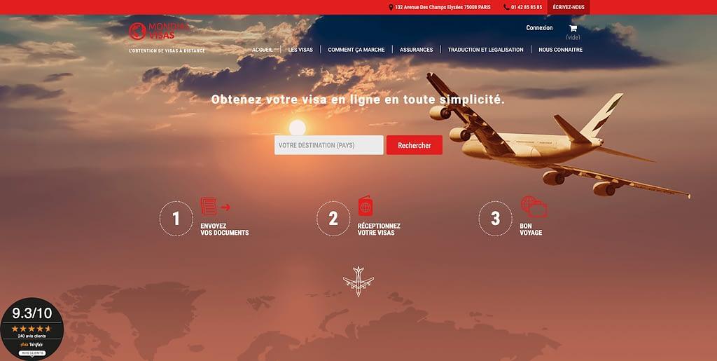 accueil mondial visas