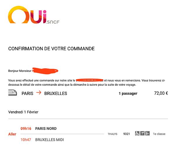 email de confirmation de commande ecommerce