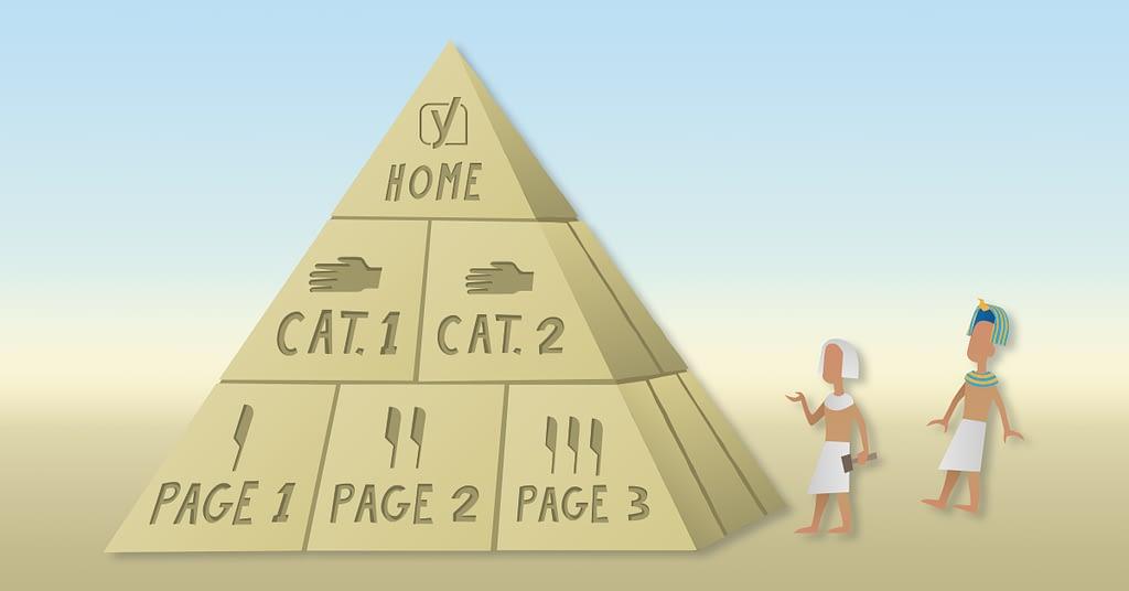 structure de site maillage interne e-commerce