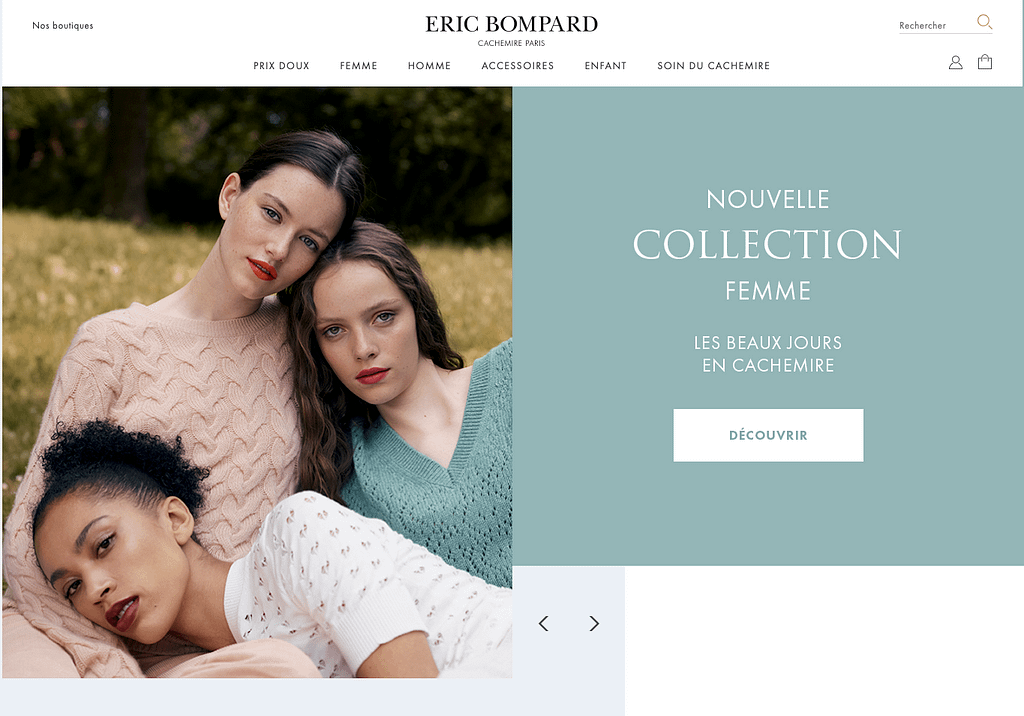 Boutique Eric Bompard PrestaShop